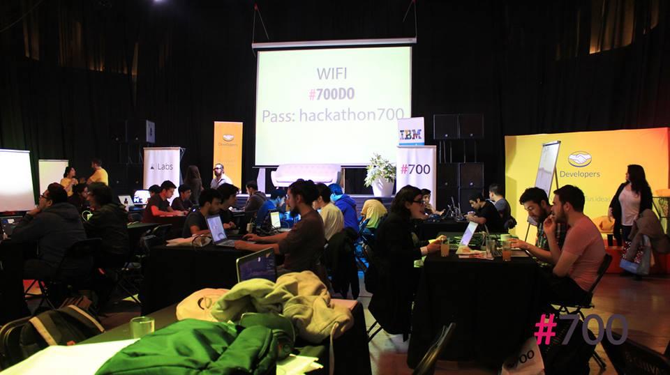 Hackathon #700 Octubre 2016 Chile
