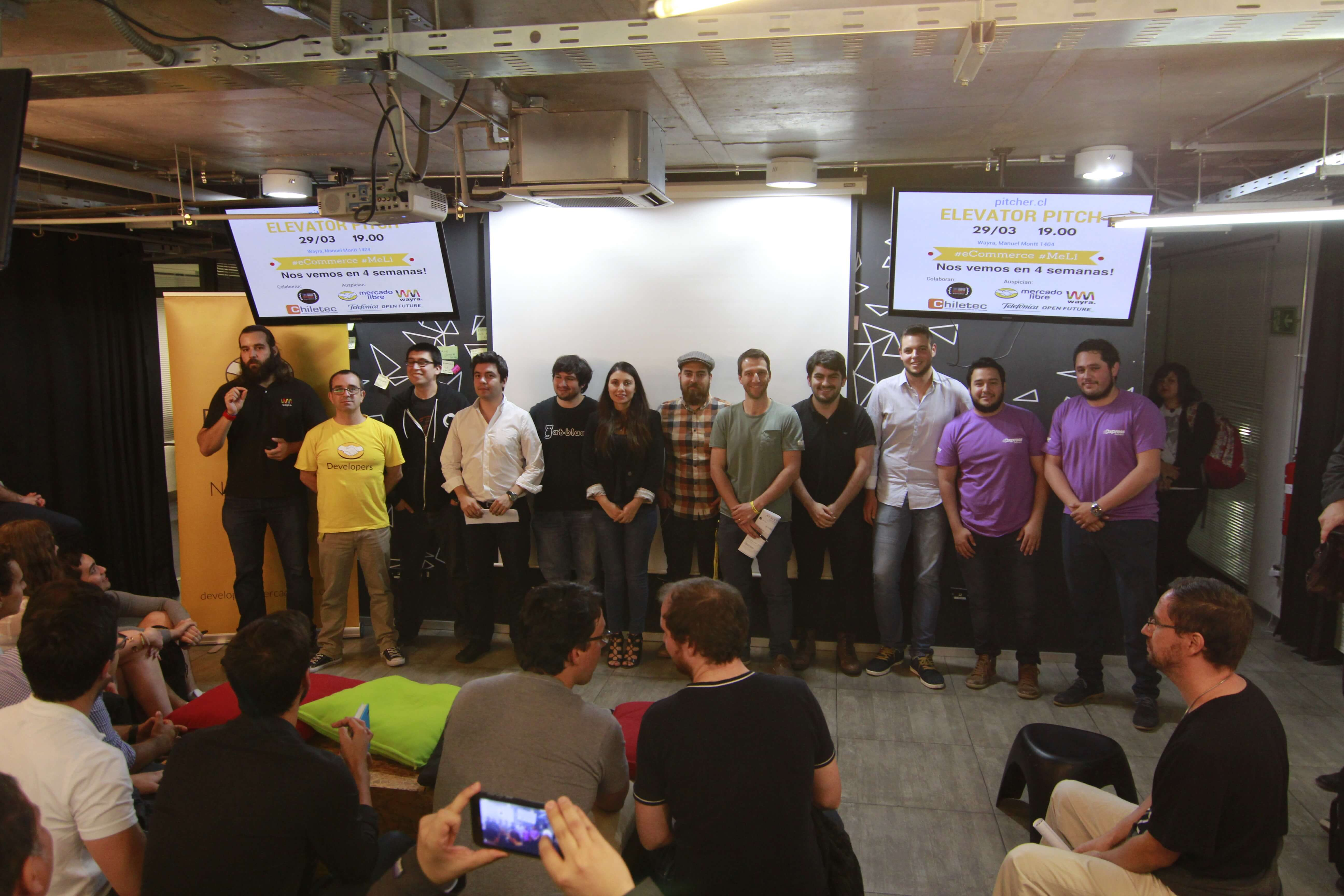 Competencia de pitch en e-commerce WAYRA / Mercado Libre